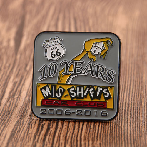 10 YEARS PINS
