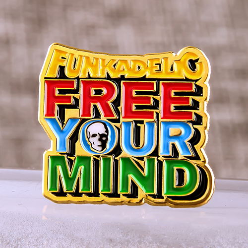 Free Your Mind Lapel Pins