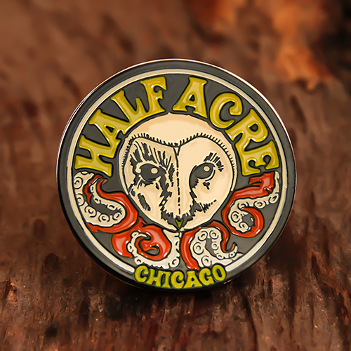Half Acre Personalized Pins