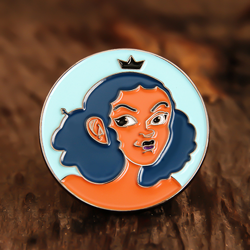Cool Girl Lapel Pins