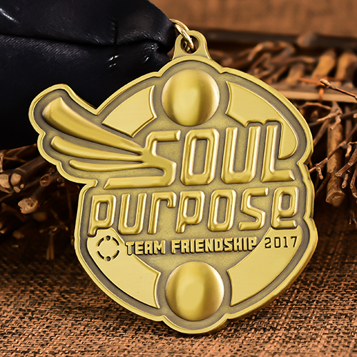 Soul Purpose Custom Medals