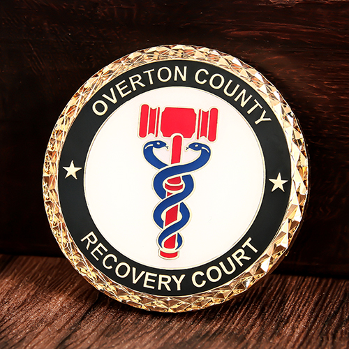 Overton County Custom Coins