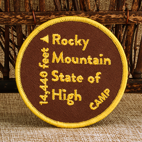 Rocky Mountain State Custom Patches