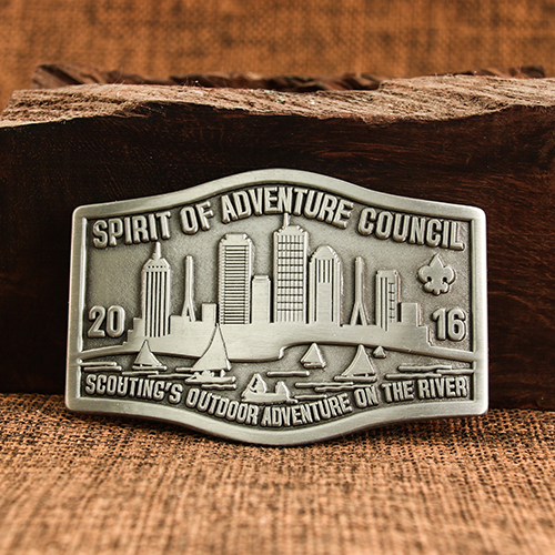 Adventure Council Belt Buckles
